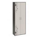Шкаф комбинированный «Витра» тип 1 (Венге Цаво/Дуб Белфорт с рисунком)