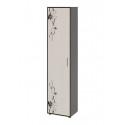 Шкаф «Витра» тип 1 (Венге Цаво/Дуб Белфорт с рисунком)