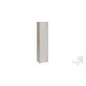 Шкаф «Витра» тип 1 (Ясень шимо/Бежевый фон глянец с рисунком)