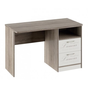 Стол с ящиками «Брауни» (Фон бежевый с рисунком/Дуб Сонома трюфель)
