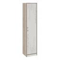 Шкаф для белья «Брауни» (Фон бежевый с рисунком/Дуб Сонома трюфель)