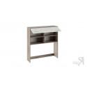 Шкаф настольный «Брауни» (Фон бежевый с рисунком/Дуб Сонома трюфель)