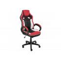 Компьютерное кресло Anis черное / красное / белое
