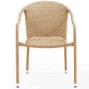 Плетеное кресло из искусственного ротанга AFM-318B-Beige