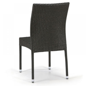 Плетеный стул из искусственного ротанга Y380A-W53 Brown