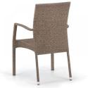 Плетеный стул из искусственного ротанга Y379B-W56 Light brown
