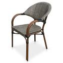 Кресло из текстилена C029-TX Grey-beige