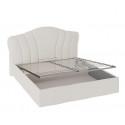 Кровать с мягким изголовьем и подъемным механизмом «Сабрина» (1600) ТД-307.01.02 (Ткань Кашемир)