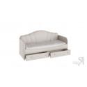 Кровать с мягкой спинкой и ящиками «Сабрина» (900) (Ткань Кашемир)