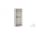 Шкаф для одежды с 2 зеркальными дверями с опорой «Сабрина» (Кашемир)