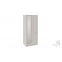 Шкаф для одежды с 1 глухой и 1 зеркальной дверью с опорой «Сабрина» (Кашемир)
