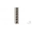 Шкаф для белья с 1 глухой дверью  с опорой «Сабрина» СМ-307.07.210-01 (Кашемир)