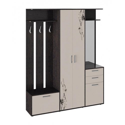 Набор мебели для прихожей «Витра» Тип 2 (Венге Цаво, Дуб Белфорт с рисунком)