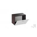 Тумба для обуви «Фьюжн» (Венге Линум/Белый глянец)