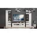 Набор мебели «Фьюжн» №2 (Белый глянец/Венге Линум)