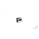 Тумба прикроватная «Фьюжн» (Белый глянец/Венге Линум)