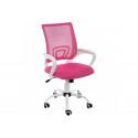 Компьютерное кресло Ergoplus розовое / белое