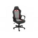 Компьютерное кресло Loki серое / черное / красное