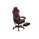 Компьютерное кресло Atmos черное / красное