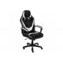 Компьютерное кресло Bens серое / черное / белое