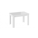 Стол обеденный «Норман» тип 1 (Белый/Стекло белый глянец)