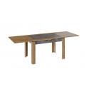 Стол раздвижной «Хьюстон» тип 4 (Дуб Вотан/Моод Темный)
