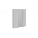 Шкаф-купе 3-х дверный «Траст» (Белый снег/Стекло Белый глянец) СШК 2.180.60-15.13.15