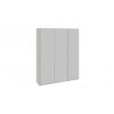 Шкаф-купе 3-х дверный «Траст» (Дуб Сонома/Белый снег) СШК 2.180.60-11.11.11