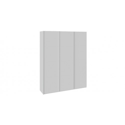 Шкаф-купе 3-х дверный «Траст» (Белый снег) СШК 2.180.60-11.11.11