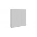 Шкаф-купе 3-х дверный «Траст» (Белый снег) СШК 2.210.70-11.11.11