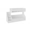 Кровать 2-х ярусная с приставной лестницей «Франческа» СМ-312.11.001 (Дуб Седан)