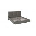 Кровать с мягким изголовьем «Либерти» (Хадсон/Ткань Грей)