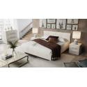 Кровать c мягкой обивкой тип 1 «Элис» (Светлая)