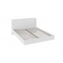 Двуспальная кровать «Наоми» СМ-208.01.01 (Белый глянец)