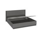 Кровать «Наоми с подъемным механизмом СМ-208.01.05 (Фон серый, Джут)