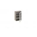 Шкаф навесной со стеклом В_72-50_1ДРс (Бежевый) 72 см