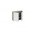 Шкаф навесной В_72-90_2ДР (Бежевый) 72 см