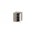 Шкаф навесной угловой с углом 45° ВУ45_72-(40)_1ДР (Бежевый) 72 см