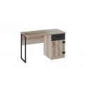 Стол письменный с ящиком «Окланд» (Фон Черный/Дуб Делано)