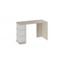 Стол письменный тип 3 (Дуб Сонома/Белый Ясень)