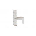 Стол письменный тип 4 (Дуб Сонома/Белый Ясень)