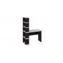 Стол письменный тип 4 (Дуб Молочный/Венге Цаво)