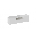 Тумба для ТВ «Glance» тип 1 (Белый/Стекло белый глянец)