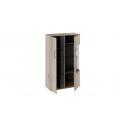 Шкаф комбинированный с двумя дверьми «Брайтон» (Камень/Дуб Делано )