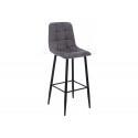 Барный стул Chio black / dark grey