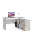 Компьютерный стол КСТ-109 (Дуб Юкон) Правосторонний