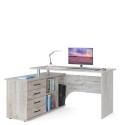 Компьютерный стол КСТ-109 (Дуб Юкон) Левосторонний