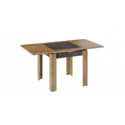Стол раздвижной «Хьюстон» тип 3 (Дуб Вотан/Моод Темный)