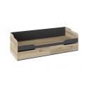 Кровать с 2 ящиками «Кристофер» (Фон Серый/Олд Стайл) ТД-328.12.01