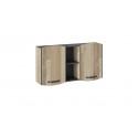 Шкаф навесной «Кристофер» (Фон Серый/Олд Стайл) ТД-328.15.11